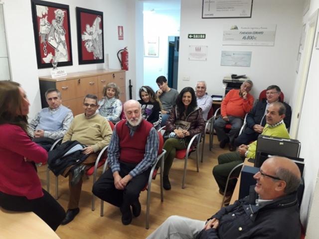 Sesión formativa para el voluntariado sobre manupulación de alimentos